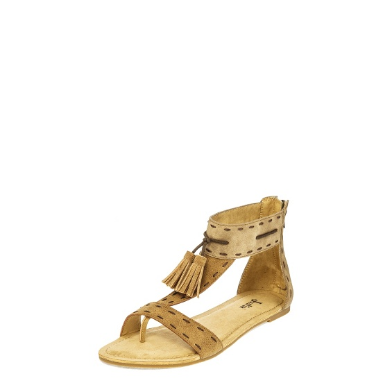 Image for CLOVER TAN TASSEL shoe; Style# LS101
