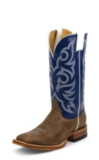 MEN'S BROWN DELTA JUSTIN RANCH COLLECTION BOOTS