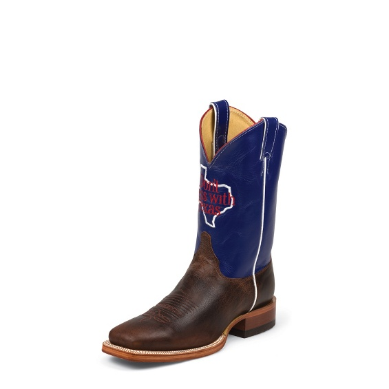 Image for DONT MESS WITH TEXAS MEN COGNAC boot; Style# SB301