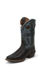 MEN'S BLACK SILVER COLLECTION BOOTS