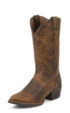 MEN'S BROWN SILVER COLLECTION BOOTS