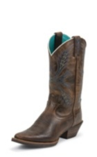 WOMEN'S BROWN SILVER COLLECTION BOOTS