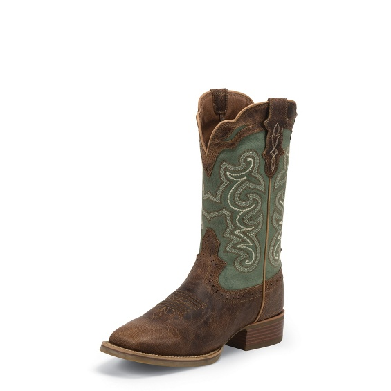 Image for ASHENA GREEN boot; Style# SVL7211