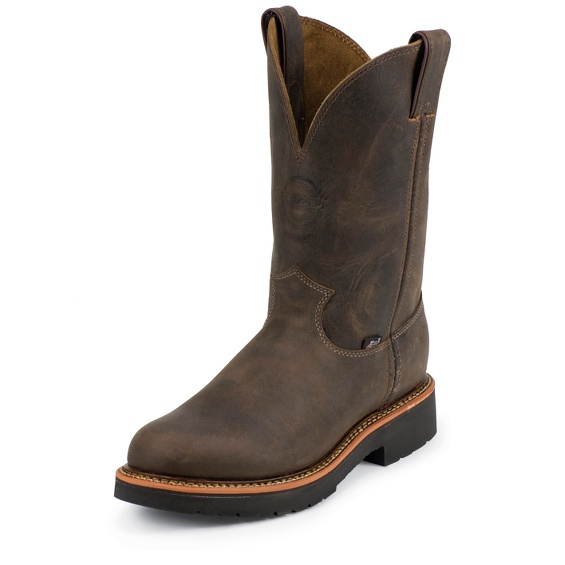 Image for RUGGED CHOCOLATE GAUCHO STEEL TOE boot; Style# 4443