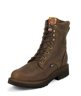 MEN'S RUGGED BAY GAUCHO J-MAX® LACE UP WORK BOOTS