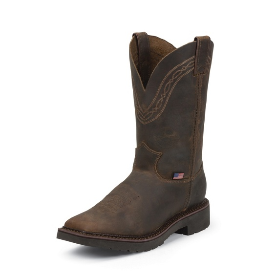 Image for SUDERLAND PULLON TAN CRAZYHORSE 11 boot; Style# 4516