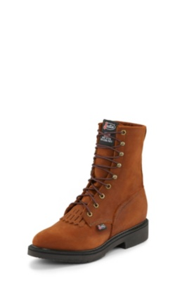 MEN'S AGED BARK DOUBLE COMFORT® LACE UP WORK BOOTS
