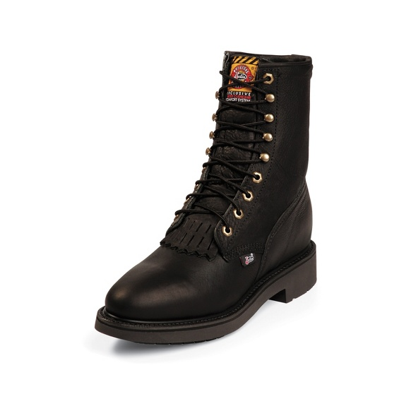 Justin Original Workboots 763 Conductor Black 8