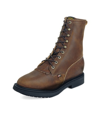 MEN'S AGED BARK DOUBLE COMFORT® LACE UP STEEL TOE WORK BOOTS