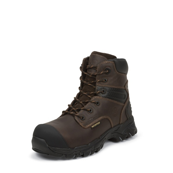 Image for WHIRLWIND BROWN WATERPROOF COMP TOE boot; Style# WK104
