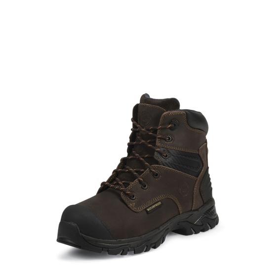 Image for BROWN FINE GRAIN WATERPROOF boot; Style# WK118