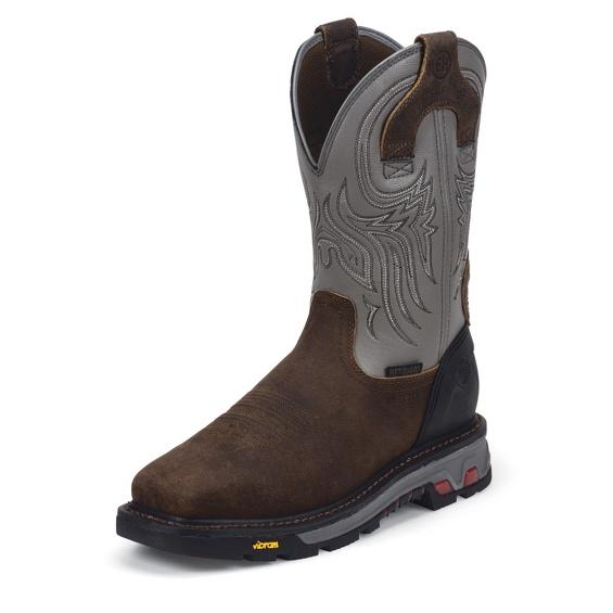 Image for TANKER SILVER WATERPROOF STEEL TOE boot; Style# WK2102