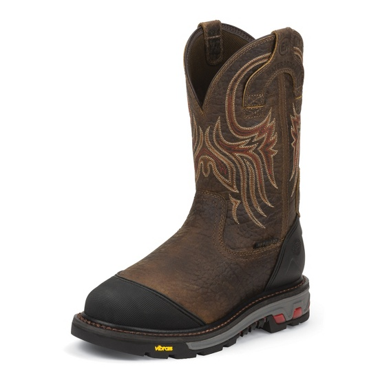 Image for BOREHOLE MAHOGANY STEEL TOE boot; Style# WK2114