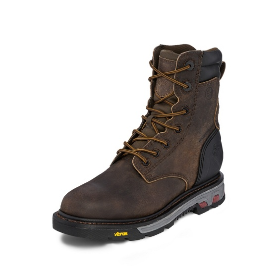 Image for DRYWALL BROWN INS WATERPROOF 8 boot; Style# WK216