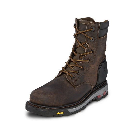 Image for DRYWALL BROWN INS WATERPROOF COMP TOE 8 boot; Style# WK218