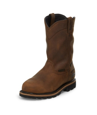MEN'S WYOMING WORKER II™ WATERPROOF COMPOSITION TOE WORK BOOTS