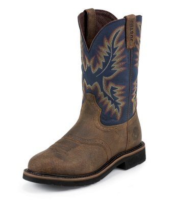 MEN'S COPPER KETTLE ROWDY STAMPEDE WORK BOOTS