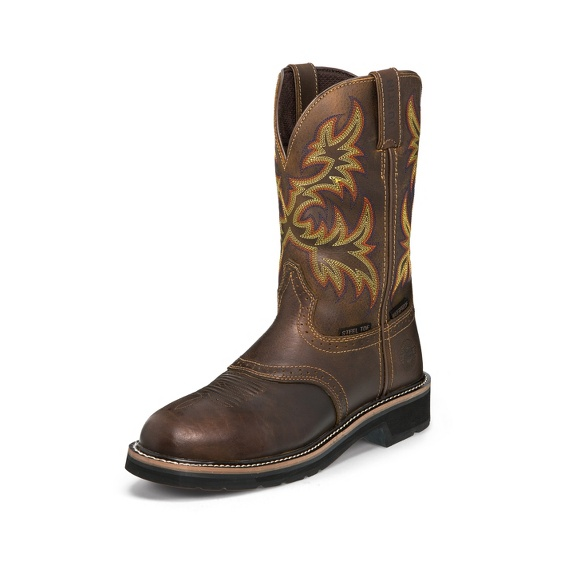 Image for INSTALLER STEEL TOE boot; Style# WK4695