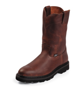 MEN'S TAN PREMIUM LIGHT DUTY WORK BOOTS