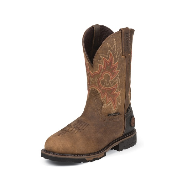 Image for RUSTIC BARNWOOD WATERPROOF COMP TOE boot; Style# WK4941