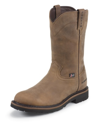 MEN'S WYOMING WORKER II™ WATERPROOF STEEL TOE WORK BOOTS