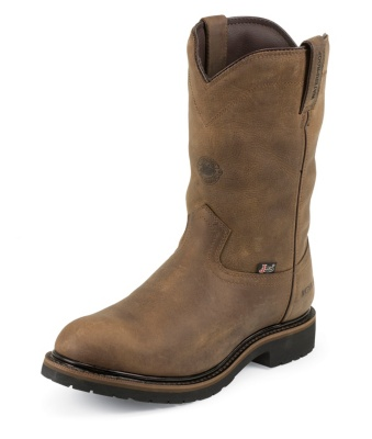 MEN'S WYOMING WATERPROOF WORKER II™ INSULATED STEEL TOE WORK BOOTS