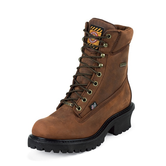 Image for MAHOGANY HARNESS GORE-TEX ST/ TOE LOGGER boot; Style# WK614