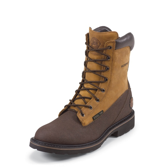 Image for BROWN TEC-TUFF boot; Style# WK861