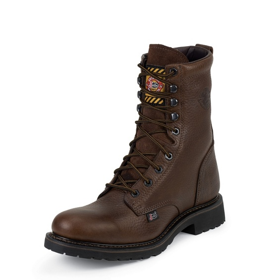 Image for BROWN TRAPPER COWHIDE STEEL TOE boot; Style# WK921