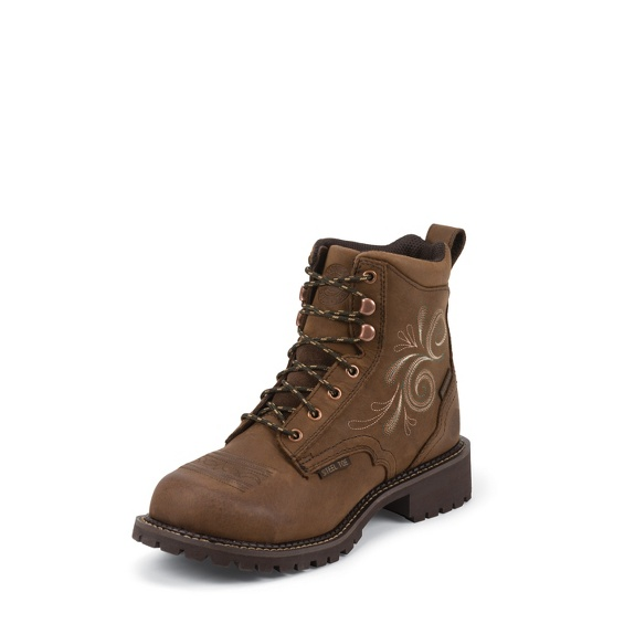 Justin Original Workboots Wkl985 Katerina Waterproof