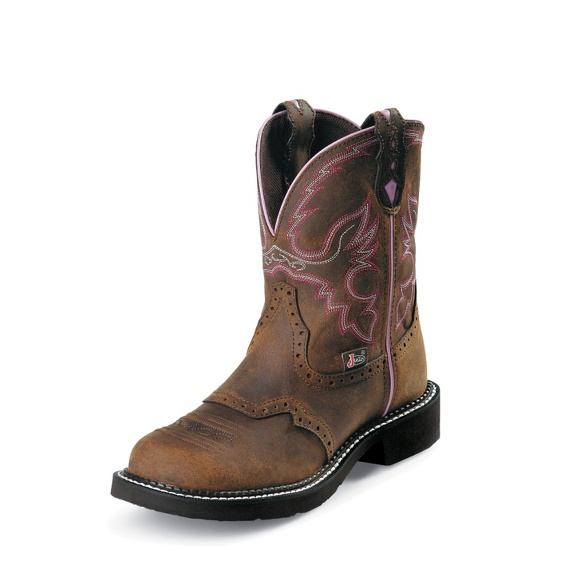 Image for WANETTE BROWN STEEL TOE boot; Style# WKL9980