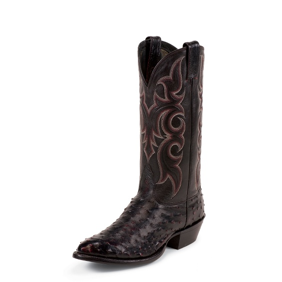 Image for RANDY BLACK CHERRY FULL QUILL boot; Style# MD8506