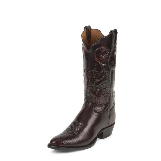 Image for BLACK CHERRY BRUSHED GOAT boot; Style# 1010