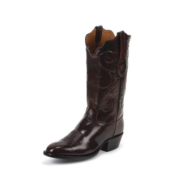 Image for BLACK CHERRY BRUSHED GOAT boot; Style# 1045