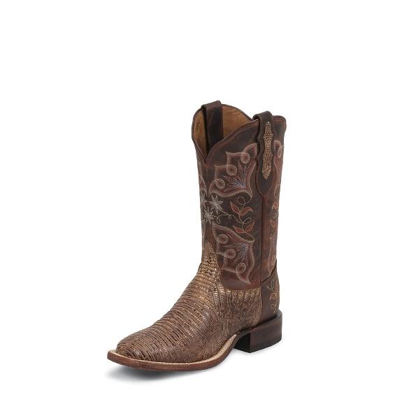 Image for SIENNA TRI-TONE LIZARD boot; Style# 1808-L