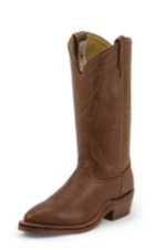 MEN'S NATURAL RETAN STOCKMAN WESTERN BOOTS