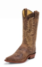 MEN'S TAN SAIGETS GOAT EL PASO COLLECTION WESTERN BOOTS