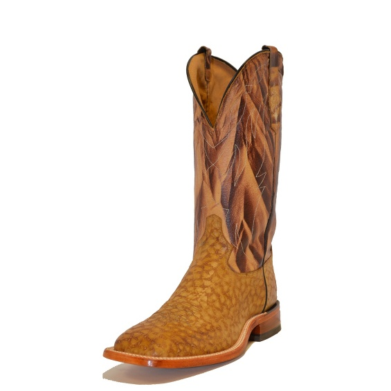 Image for TAN REVERSE QUILL PRINT boot; Style# C2892