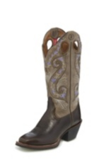 WOMEN'S BRIDLE BROWN SHILOH 3R™ WESTERN BOOTS