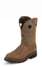 MEN'S TAN CHEYENNE BUFFALO 3R™ STEEL TOE WORK BOOTS