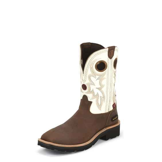 Image for MIDLAND WHITE boot; Style# RR3302