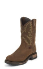 MEN'S TAN CHEYENNE TLX® WESTERN WORK WATERPROOF WORK BOOTS