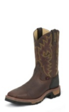 MEN'S BARK BADGER TLX® WESTERN WORK COMPOSITION TOE WORK BOOTS