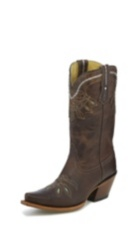 WOMEN'S CHOCOLATE RANCHO 100% VAQUERO™ WESTERN BOOTS