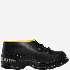 "ZXT Buckle Deep Heel Overshoe 5"" Black"