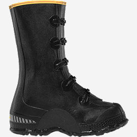 "ZXT Buckle Deep Heel Overshoe 14"" Black"