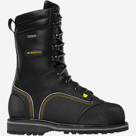 "Longwall II Safety Toe Met Guard 200G 10"" Mining Boots"