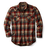 Pendleton Canyon Shirt Fitted - Red Tan