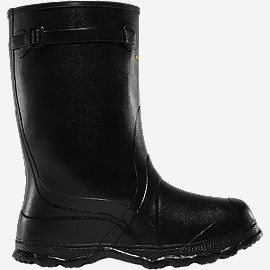 "Utah Brogue II Overshoe 14"" Black"