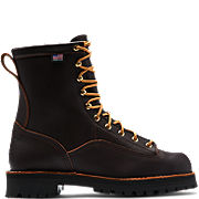 Rain Forest™ Brown Plain Toe Work Boots
